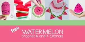watermelon crochet patterns