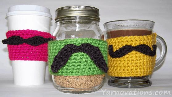 Moustache cosy