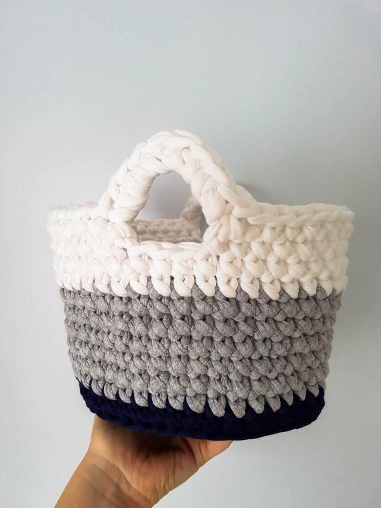 crochet toy basket pattern