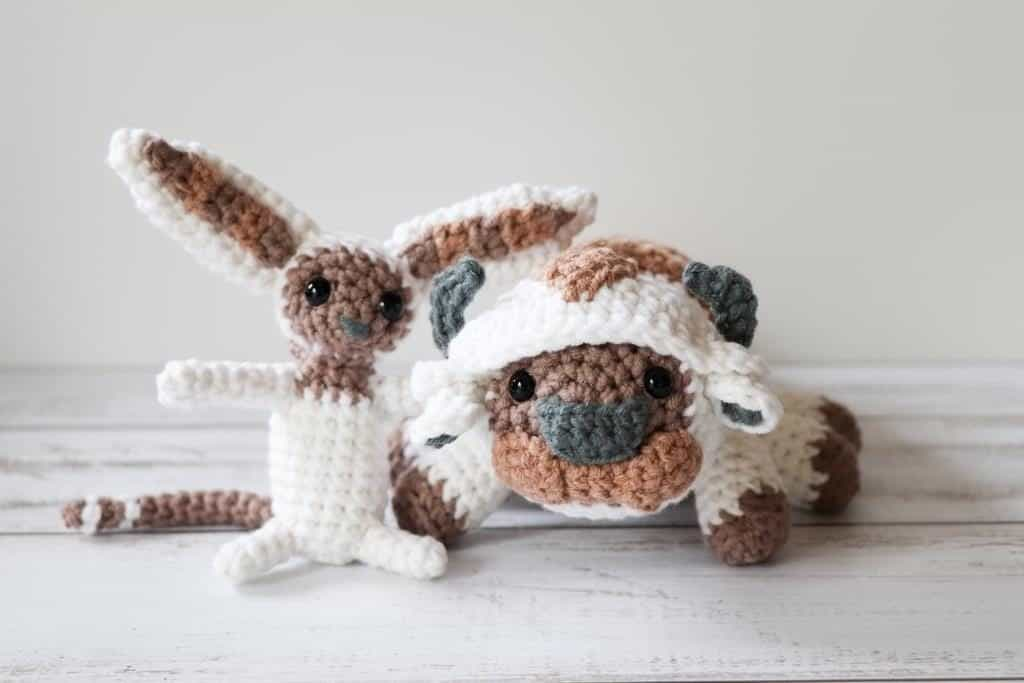 Crochet Appa and Momo