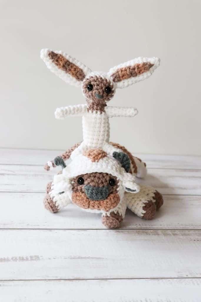 Free Crochet Momo Pattern Momo And Appa Avatar The Last Airbender
