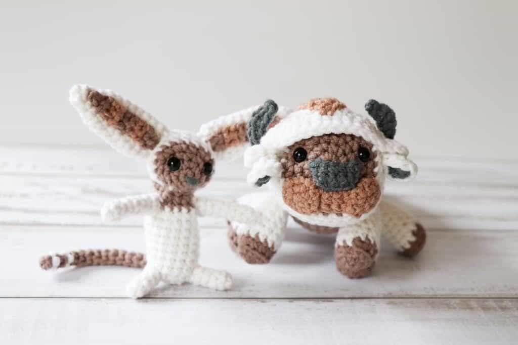 Appa and Momo crochet