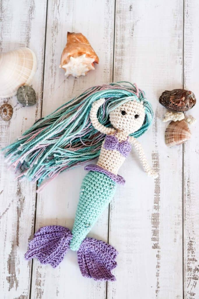 Luna the Mermaid crochet pattern