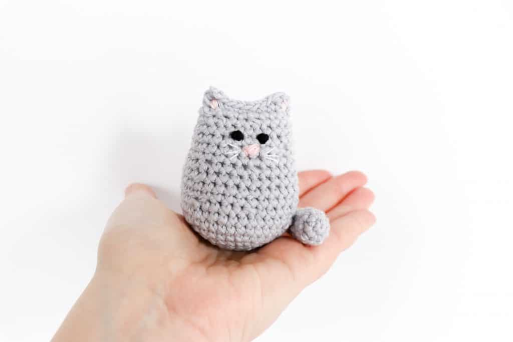 Itty Bitty Crochet Kitty Free Crochet Cat Pattern Thoresby Cottage