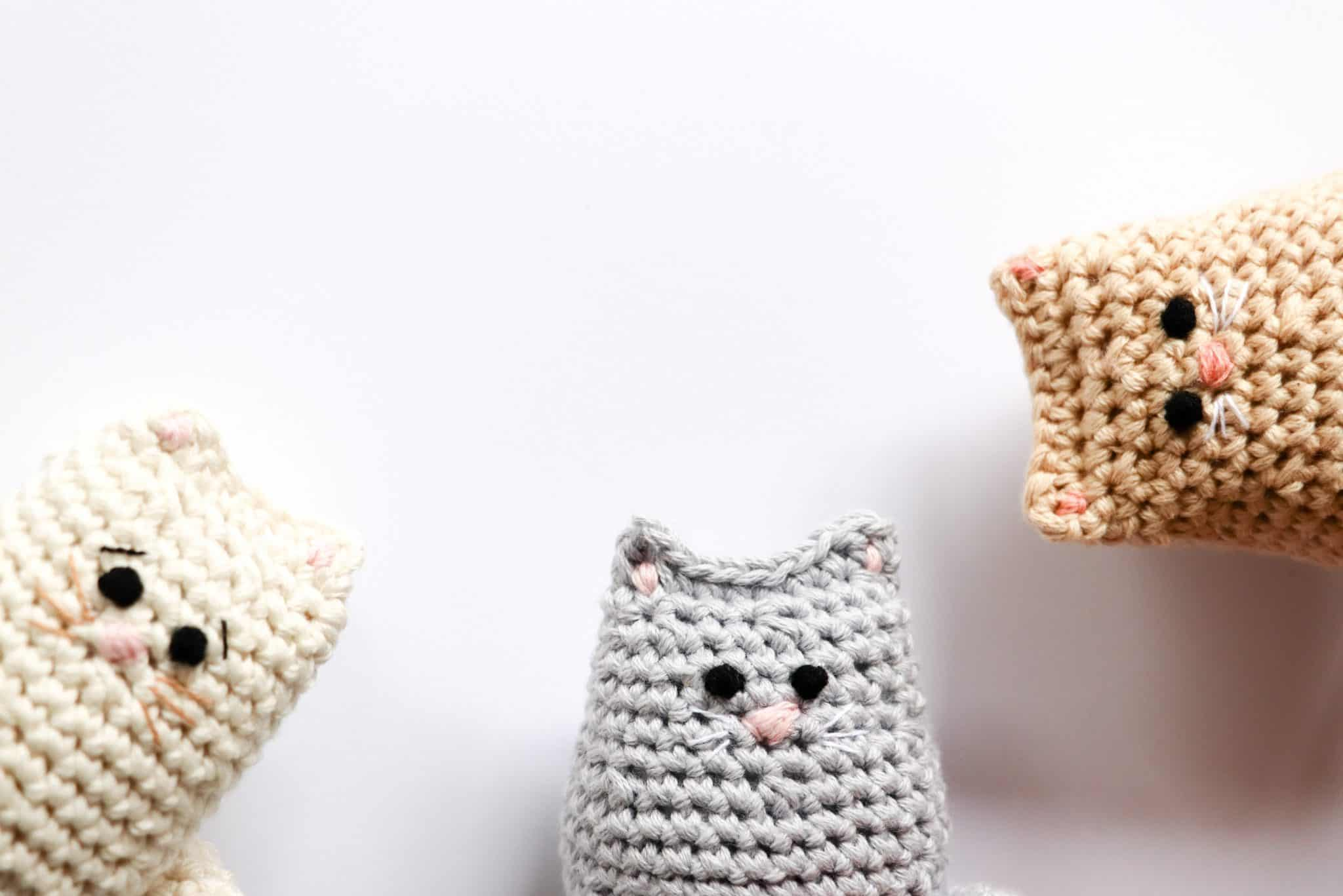 Free Cat Crochet Pattern - Red Ted Art - Make crafting with kids ... | 1367x2048