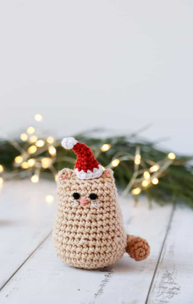 Chef Kitty! The Kookiest Amigurumi Chubby Plushy Cat with Chef Hat ... | 1024x651