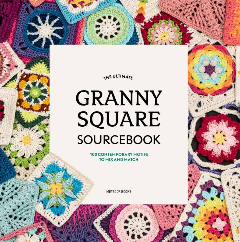 The cover of the ultimate granny square source book