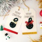 crochet christmas tag tutorial